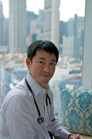 Bác sĩ Richard Teo Keng Siang.